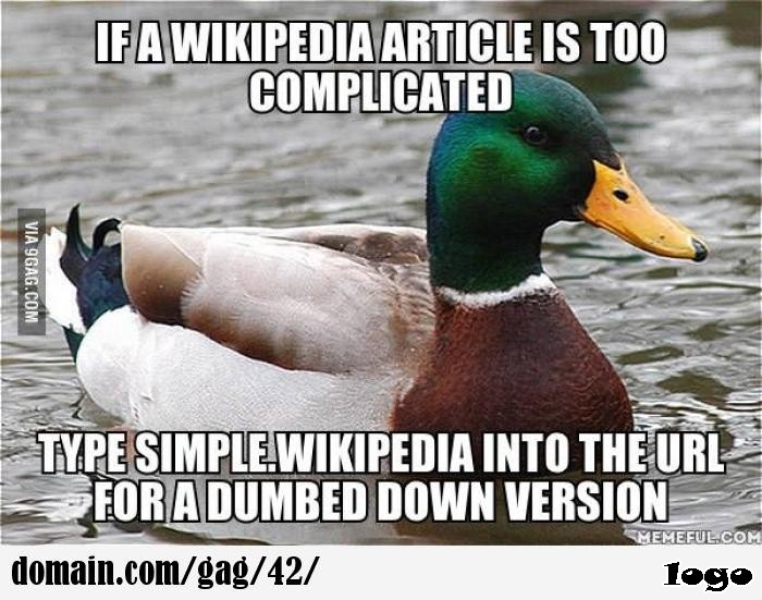 Works very well for scientific articles on Wikipedia