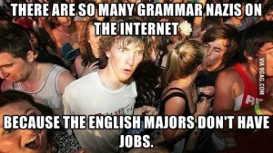 As an English Major  I feel no guilt in this revelation